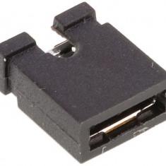 Jumper de 2.54 mm Negru (cap deschis)