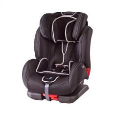 Scaun Auto DiabloFix Isofix 9-36 kg Black - Scaun auto copii grupa 1-2-3 (9-36 kg) Caretero, 1-2-3 (9-36 kg), Negru