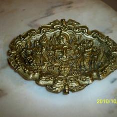 Scrumiera bronz masiv model deosebit