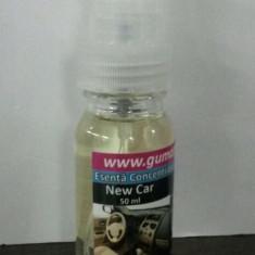 Esenta AUTO Guma Turbo Concentrata pe baza de ulei 50 ml cu pulverizator auto - Odorizant Auto