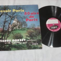 DISC VINIL VOGUE 80 PIESE REVOIR PARIS 80 SUCCES DE PARIS PIERRE DORSEY RAR!!! - Muzica Jazz