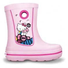 Cizme pentru copii Crocs Jaunt Hello Kitty Europe Bubblegum (Crc11739-66G) - Cizme copii Crocs, Marime: 33.5, 34.5, Culoare: Roz