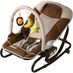 Sezlong pentru Copii Astral brown - Balansoar interior Caretero