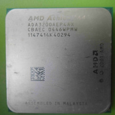 Procesor AMD Athlon 64 3200+ NewCastle 2.2GHz 512K socket 754 - Procesor PC AMD, Numar nuclee: 1, 2.0GHz - 2.4GHz