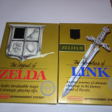 Zelda 1+2 NES, nintendo the legend of zelda, casete, jocuri, caseta