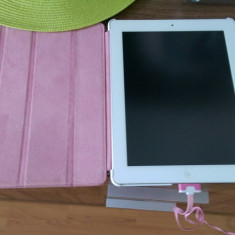 I Pad 2 - Tableta iPad 2 Apple, Alb, 64 GB, Wi-Fi + 3G