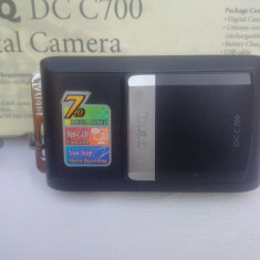 BenQ DC 700 - Aparate foto compacte