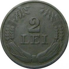 ROMANIA, 2 LEI 1941 (10) - Moneda Romania, Zinc