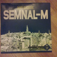 """Formatia """"Semnal M"""" - 4 LP vinil vinyl - Muzica Rock electrecord"""
