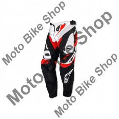 MBS Pantaloni motocross Ufo Plast Revolution, alb, 48, Cod Produs: PI04390W48 - Imbracaminte moto