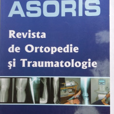 REVISTA DE ORTOPEDIE SI TRAUMATOLOGIE LOT 2 NUMERE , NR 1 SI NR 2 .ASORIS