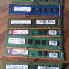 Rami ddr3, verificati, pentru pc, firme kingston.samsung, etc