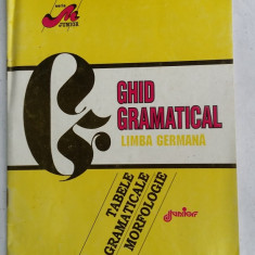 GHID GRAMATICAL LIMBA GERMANA, TABELE GRAMATICALE MORFOLOGIE - Curs Limba Germana