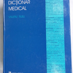 DICTIONAR MEDICAL - VALERIU RUSU,