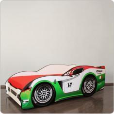 Pat copii masina Alfredo - Pat tematic pentru copii Altele, Altele, Alte dimensiuni, Multicolor