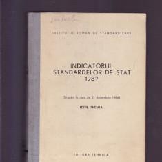INDICATORUL STANDARDELOR DE STAT 1987