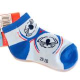 Sosete sport Spiderman albastru
