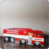 Pat copii masina Pompieri 2