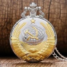 Ceas de Buzunar/Pocket Watch -Comunism/Sovietic/Rusia- Nou/Functional