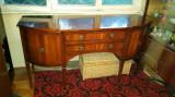 Masa Laterala Antica Sideboard Mahon Arcada Mijloc Rackstraw Lemn Masiv Veche, Comode si bufete, Victorian, Dupa 1950
