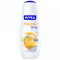 NIVEA GEL DE DUŞ CREMĂ HAPPY TIME - Gel de dus