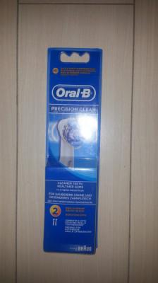 Set 2 rezerve  periuta electrica Oral B Braun Precision Clean. foto