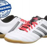Adidasi barbat Adidas Goletto 5 - adidasi originali - adidasi fotbal - Adidasi barbati, Marime: 42, Culoare: Alb, Piele sintetica