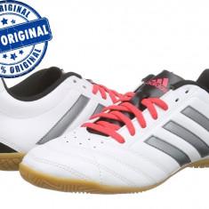 Adidasi barbat Adidas Goletto 5 - adidasi originali - adidasi fotbal - Adidasi barbati, Marime: 42, 42 2/3, 44, Culoare: Alb, Piele sintetica