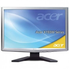 Monitor LCD widescreen 5ms Acer X193W, 19 inch, 1440 x 900, DVI, TN