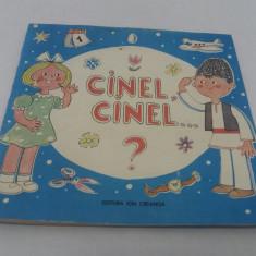 CINEL CINEL ? GHICITORI DIN FOLCLOR/ ILUSTRAȚII BURSCHI GRUDER/1990 - Carte cu ghicitori pentru copii