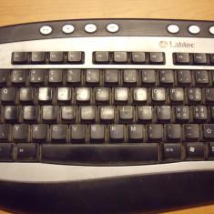 Tastatura PC Labtec Model Y-SN47 PS2, Multimedia, PS 2, Cu fir