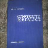 Constructii metalice V. Popescu