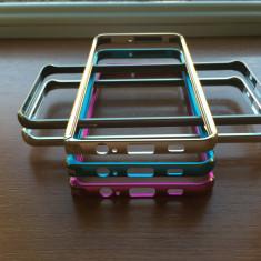 Bumper aliminiu / Bumper metalic / Husa pentru Samsung Galaxy S6 edge plus, Auriu