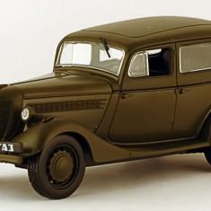 Macheta GAZ 11-73 Militar Masini de Legenda Rusia scara 1:43 - Macheta auto