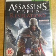 Joc XBOX 360 Assassin's Creed Revelations original PAL / by WADDER - Jocuri Xbox 360, Actiune, 16+, Single player