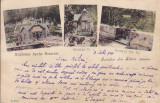SALUTARI DIN SLANIC MOLDOVA  , EXPLOATAREA APELOR MINERALE , CLASICA CIRC. 1904, Circulata, Printata