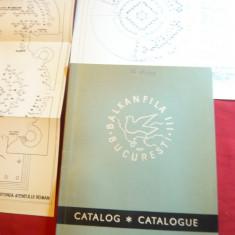 Catalog Expozitie Filatelica Balkanfila 1971 ,stampila Oficiala