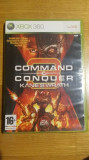 Joc XBOX 360 Command & Conquer Kane's Wrath original PAL / by WADDER, Strategie, 16+, Single player
