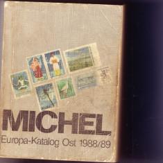 catalog timbre michel europa ost 1988/89   pozele alb-negru