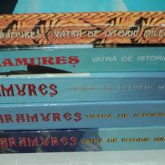 Maramures vatra de istorie milenara - 5 volume - Vasile Iuga - monografie harti - Carte Monografie