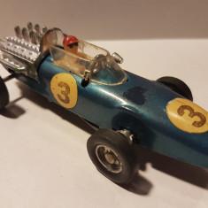 Masinuta veche Formula 1, din plastic, motor frictiune, FE no 300, Hong Kong - Jucarie de colectie