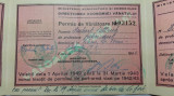 PERMIS DE VANATOARE  -  MINISTERUL AGRICULTURII SI DOMENIILOR - ANUL 1942, Documente