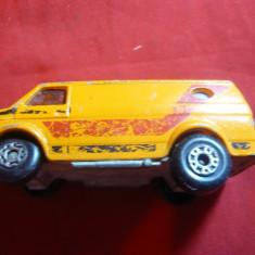 Masinuta autoutilitara Chevy Van, prod. Matchbox Lesney Anglia, metal, L=7 cm - Jucarie de colectie