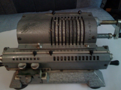 Masina calcul foto