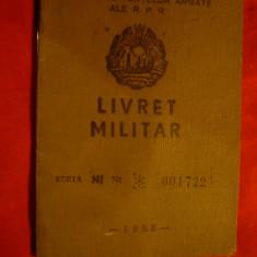 Livret Militar 1958 rezervist , Maior