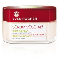 Crema de zi Serum Vegetal 50ml Yves Rocher + crema de ochi 15ml - Crema de fata
