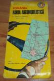 Harta automobilista Romania ACR 1974