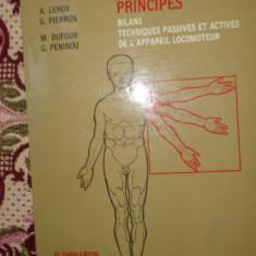 Kinesitherapie (1 principii) / carte in limba franceza 153pagini/an 1983 - Carte Recuperare medicala