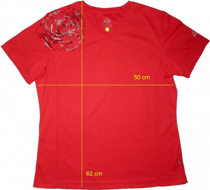 Tricou outdoor munte MCKINLEY SunProtection, ca nou (dama XL) cod-171774 foto mare