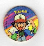 POKEMON TAZO ZAPPER  ASH GROSIME 3 MM